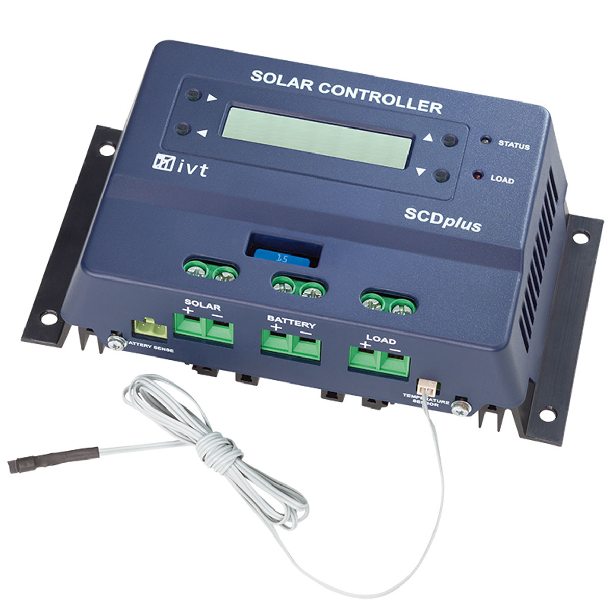 SOLAR-CONTROLLER SCplus 48 V, 40 A - with display