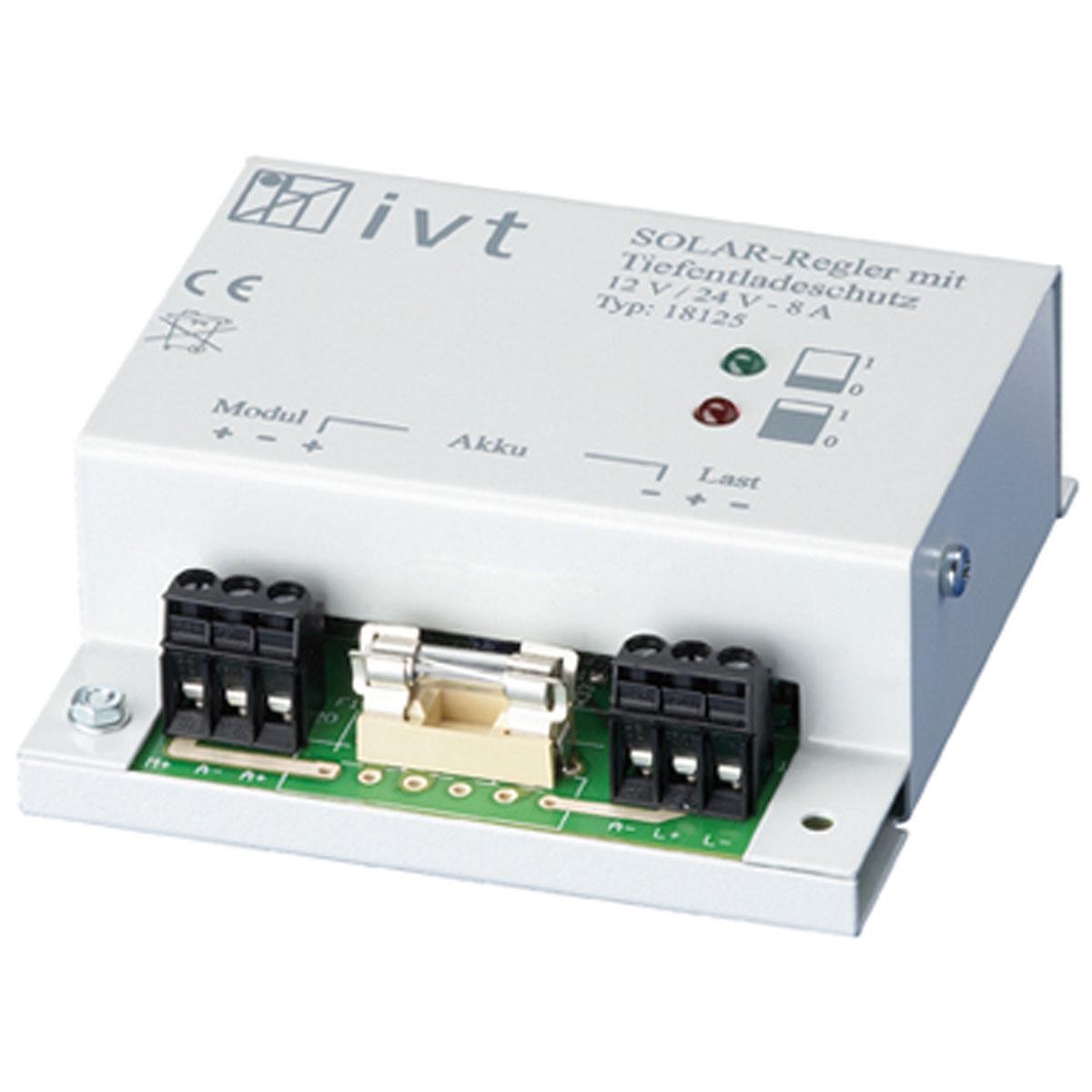 Shunt Solar-Controller 12 V/24 V, 8 A