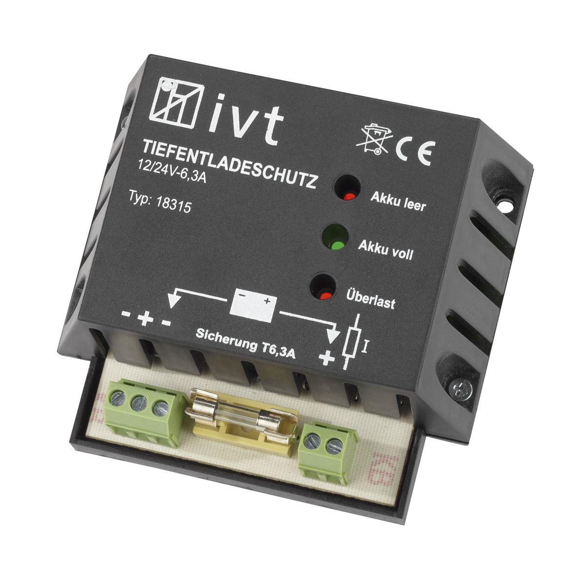 12V/24V napelemes töltésvezérlő 6A akkumulátor állapot kijelzővel
