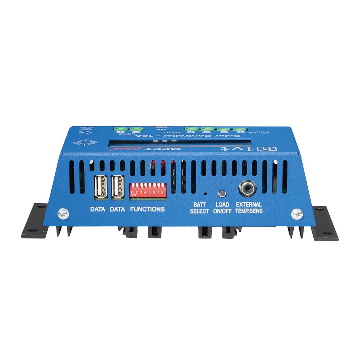 MPPTplus+20A napelemes töltésvezérlő