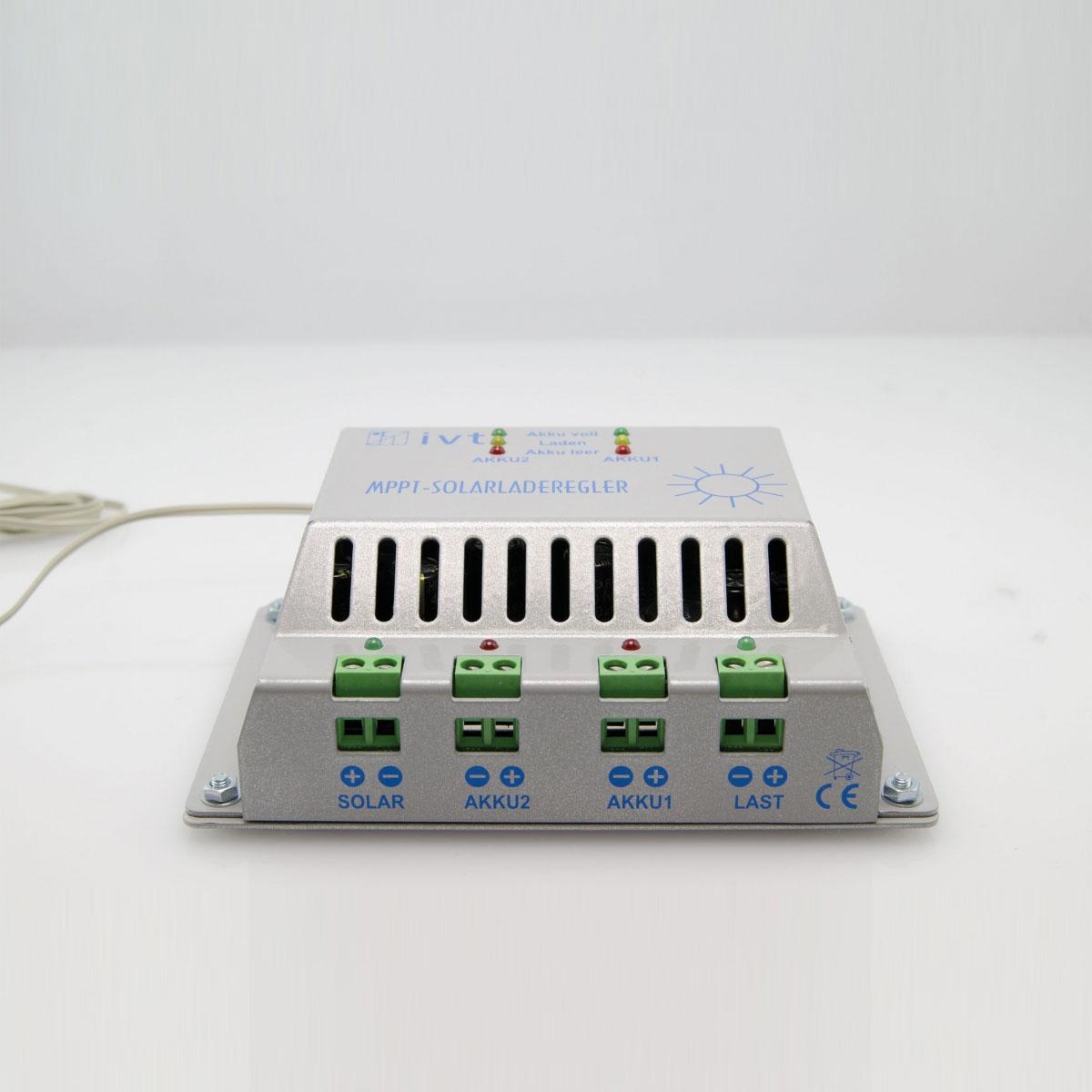 MPPT 3A napelemes töltésvezérlő